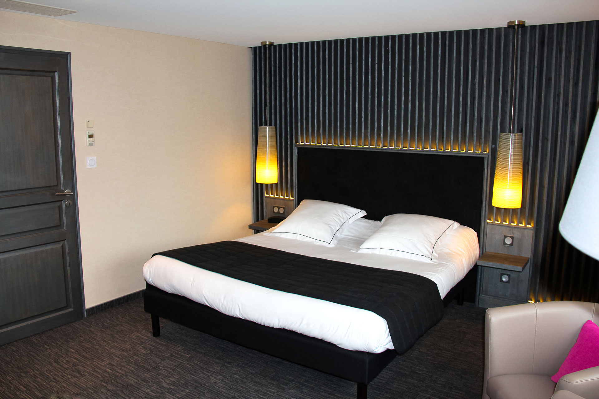 chambre loft la jamagne, hôtel spa gérardmer